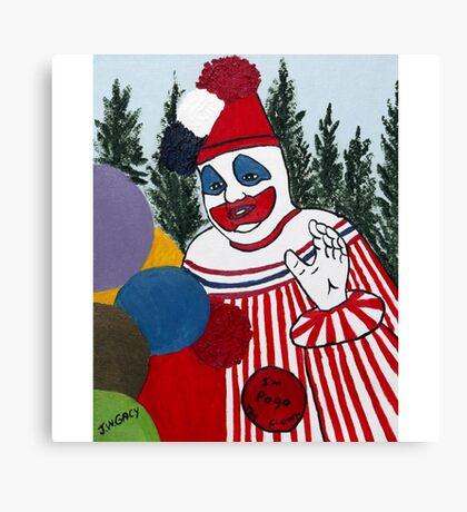 Pogo The Clown Canvas Print