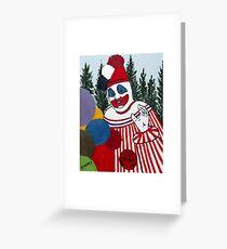 Pogo The Clown Greeting Card