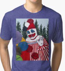 Pogo The Clown Tri-blend T-Shirt