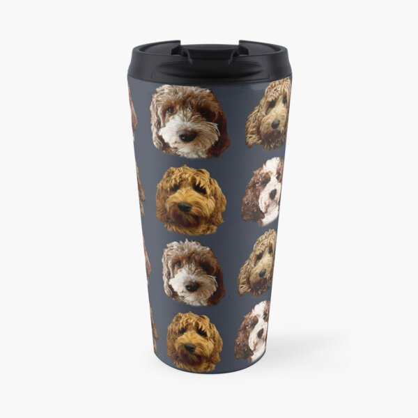 Red Cockapoo & Doodle Dog Collection  Travel Mug