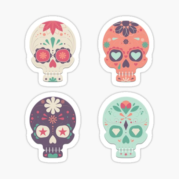 Skull Candy All  Sticker