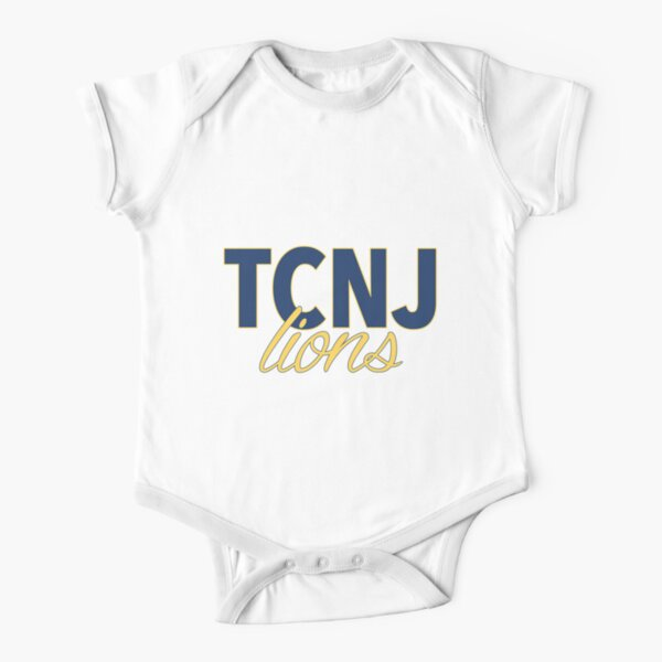 The College of New Jersey Short Sleeve Baby One-Piece