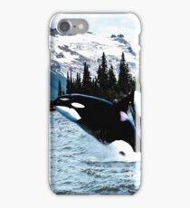 Leaping Whales iPhone Case/Skin