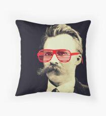 Nietzscheezy Throw Pillow