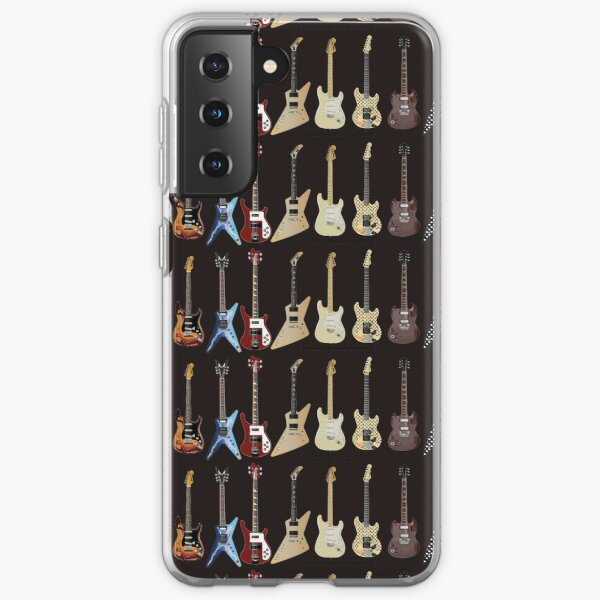 Stevie Ray Vaughan Strat Funda blanda para Samsung Galaxy