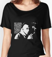 Christopher Hitchens - Religion Women's Relaxed Fit T-Shirt