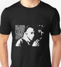 Camiseta ajustada Christopher Hitchens - Religión