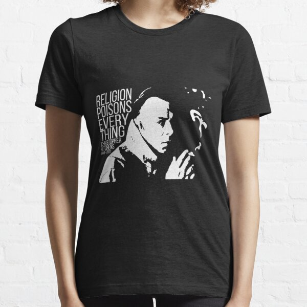 Christopher Hitchens - Religion Essential T-Shirt