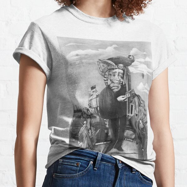 Jean-Jacques Rousseau. Classic T-Shirt