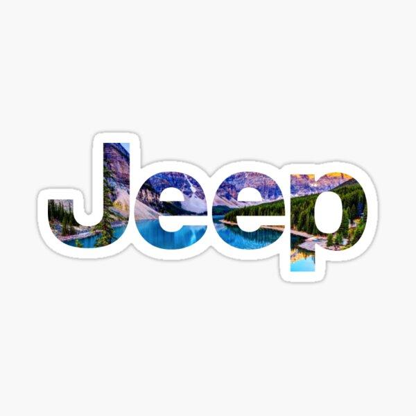 Jeep Logo Sticker