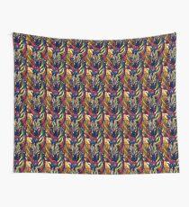 Regenbogen Zebra Wandbehang
