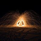 Spinning Steel Wool #3 by akaurora