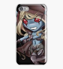 Tiny Queen of the Undead iPhone Case/Skin