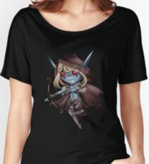 Tiny Queen of the Undead Women's Relaxed Fit T-Shirt