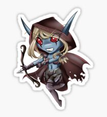 Tiny Queen of the Undead Sticker