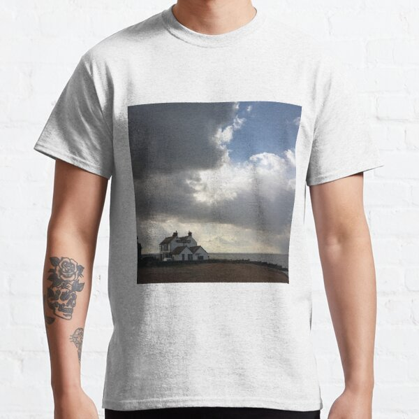 Old Neptune Pub Whitstable England UK Seafront Storm Clouds Photograph Classic T-Shirt