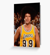 Fletch Lakers Greeting Card