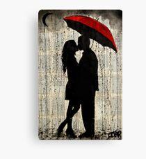 rainy day love Canvas Print