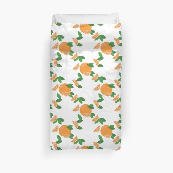 Sliced oranges Duvet Cover
