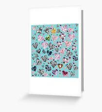 Heart Diamonds are Forever Love Valentines Couple Relationships Girl  Greeting Card