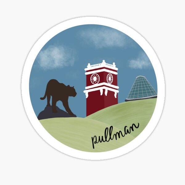 Pullman and the Palouse Sticker