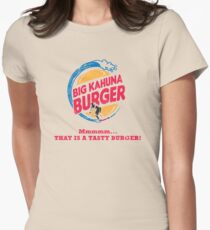 Big Kahuna Burger Women's Fitted T-Shirt