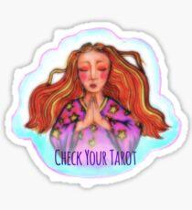 Check Your Tarot Sticker