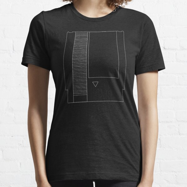 BURGER TIME ALL STAGES NES game T SHIRT BLACK ALL SIZES S-5XL