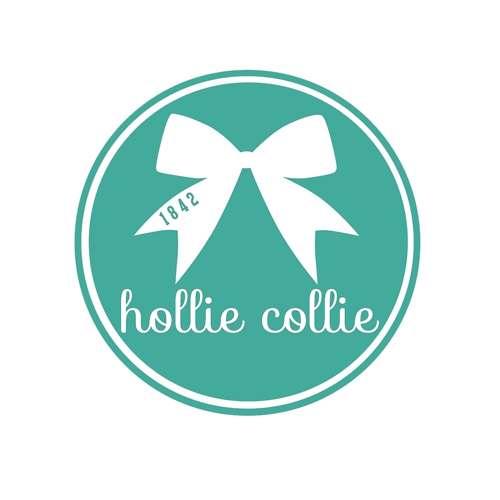 Hollie Collie Bow - Teal by Megan Sauciuc