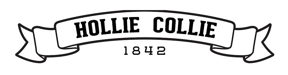 Hollie Collie Ribbon - 1842 by Megan Sauciuc