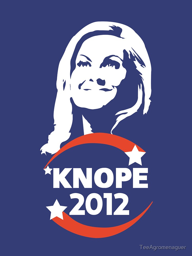 Leslie Knope for City Council by TeeAgromenaguer