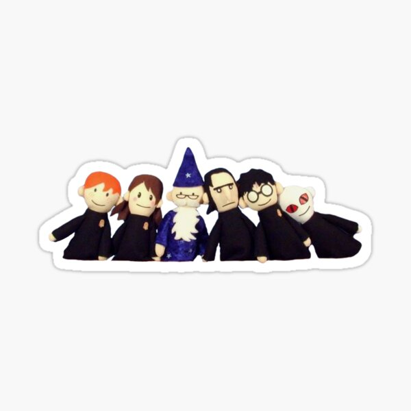 harry potter puppet pals Sticker