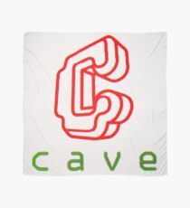 Cave Logo (CRT) Scarf