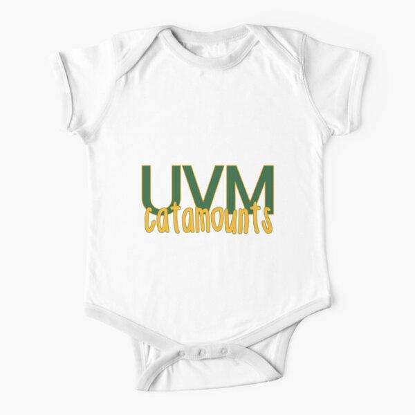 University of Vermont Short Sleeve Baby One-Piece