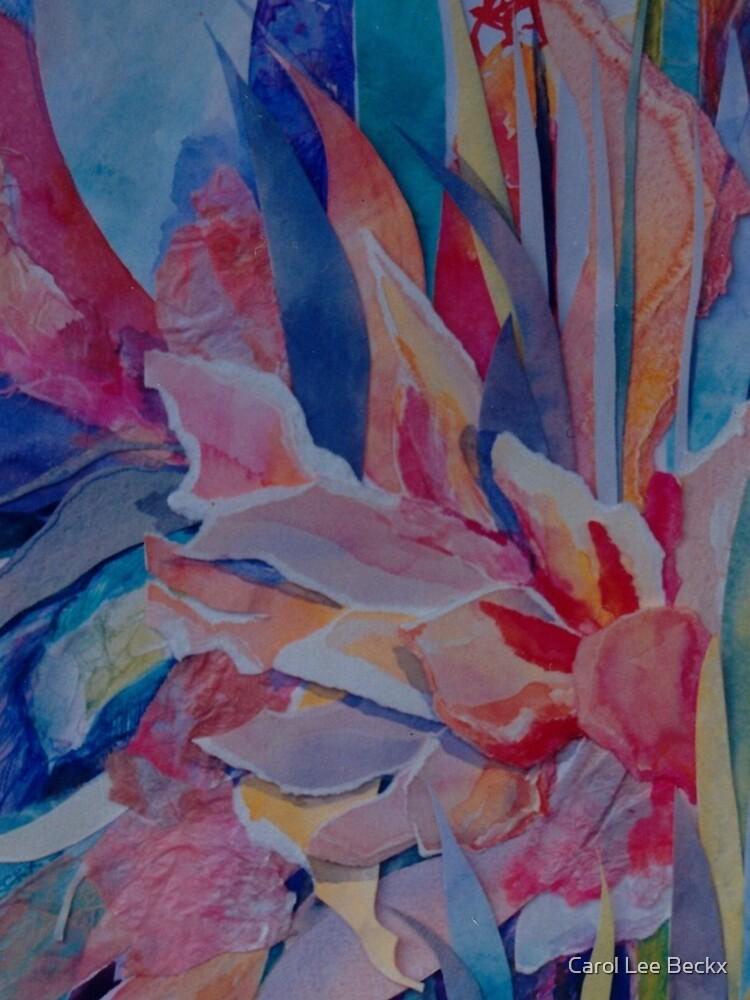 Pink Cannas by Carol-Lee-Beckx