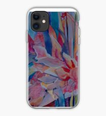 Pink Cannas iPhone Case