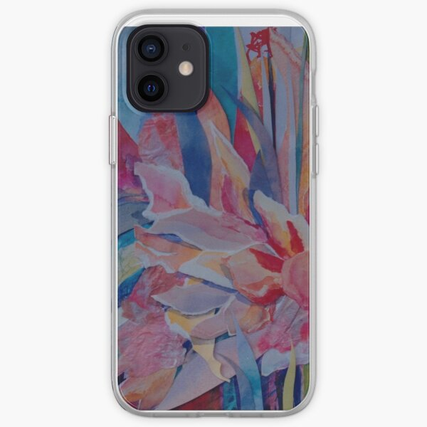 Pink Cannas iPhone Soft Case