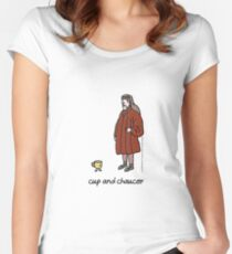 cup and chaucer Women's Fitted Scoop T-Shirt