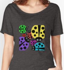 Ladybugs.  Women's Relaxed Fit T-Shirt