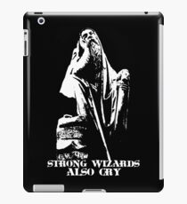Strong Wizards Also Cry iPad Case/Skin