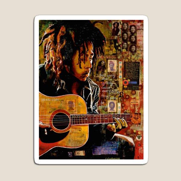 Bob with Guitar Magnet