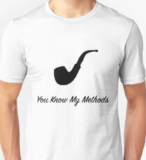 "Sherlock Holmes ""You Know My Methods"" (2) T-Shirt"