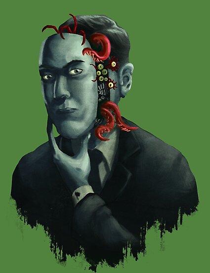 H.P. Lovecraft by wildcard24