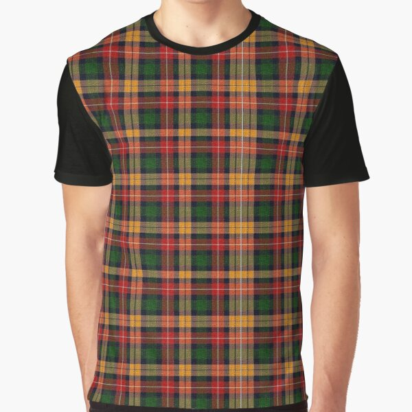 Scottish Tartan | Plaid Check Pattern Graphic T-Shirt