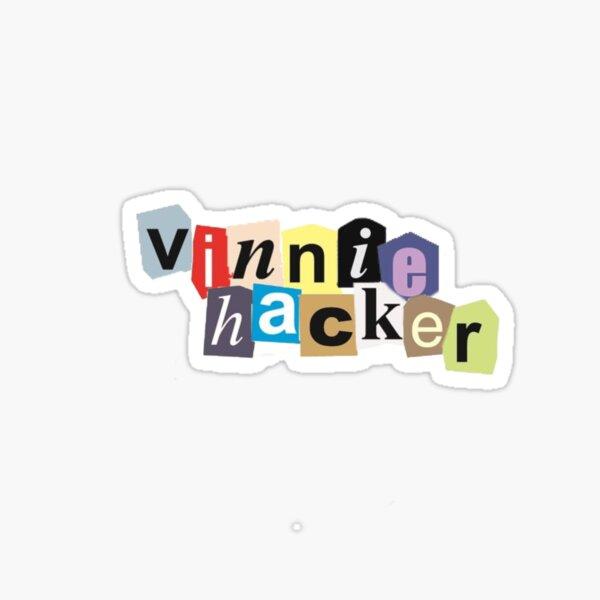 vinnie hacker Sticker