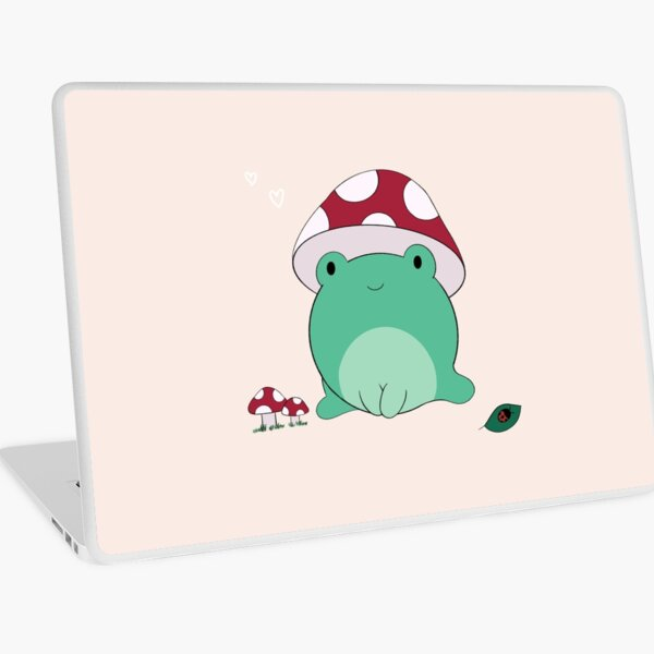 Mushroom Frog Laptop Skin