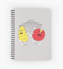 Revenge of the Space Graters Spiral Notebook