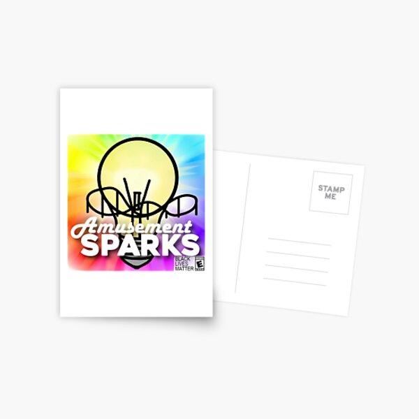 Amusement Sparks 2020 Square Postcard