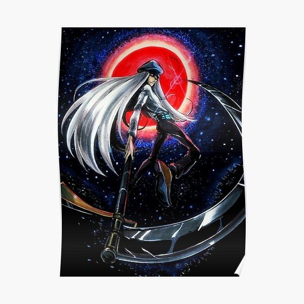 Kite In Night Poster