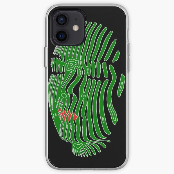 Green Peace (kinetic mask) iPhone Soft Case